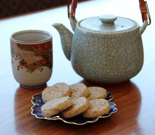 """I found the recipe for these Earl Grey Tea Cookies back in 2009, and I came across it again over the weekend while trying to figure out what I wanted to make for my book club meeting.  They seemed like the perfect treat – especially since the book that we read was by a British author and took place in England.  And let's be honest, you never have to twist my arm to try out a new cookie recipe!"" I think these would taste delicious, with a London Fog from Starbucks! View the Recipe …"