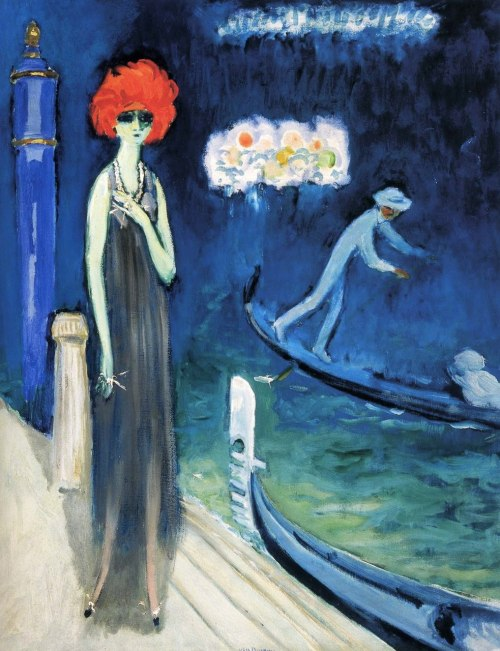 felixinclusis:  supplemental-simulacrum: kees van dongen - portrait of luisa casati (1921)