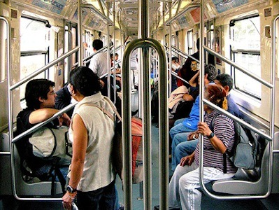 An interesting look at public transportation in Mexico City, one of the world's largest metropolitan areas. From globalvoices:  The Federal District of Mexico City is the capital city of the United States of Mexico and has a population of 8,851,080 inhabitants (the Mexico City Metropolitan Area has 20,137,152 inhabitants), according to the latest official census. Most of them use the public transportation network daily to travel from their home to their place of work, education or entertainment. Read more: Mexico: The Reality of Public Transportation in Mexico City
