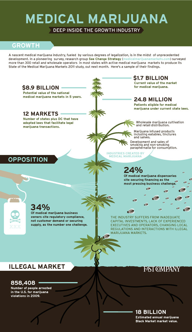 Marijuana Business Potential via lauterthanbombs