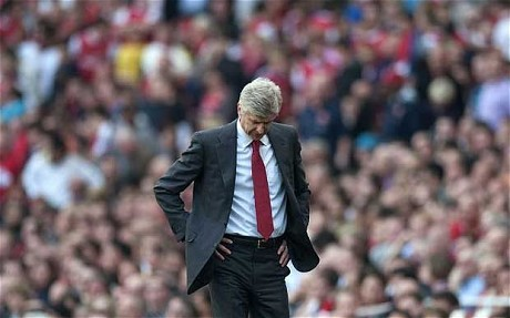 (via Henry Winter: Arsenal manager Arsène Wenger must open his eyes and make his team accept responsiblity - Telegraph)