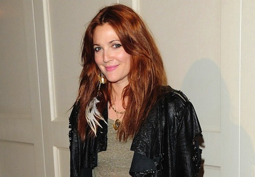 Reasons to love Drew Barrymore… 1)    She looks stunning with red hair (and she's dyed it the same coppery-red everyone did at school aged 14) 2)    The girl's a festival veteran – check out those Coachella photos 3)    She doesn't appear to give a crap what anyone thinks Respect.