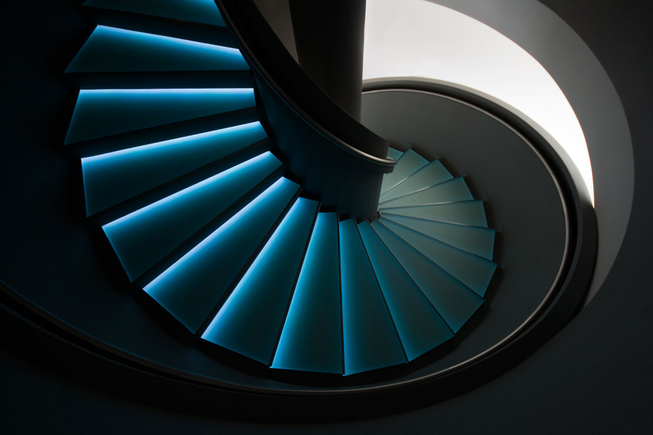 up or down the blue stairs | Flickr - Photo Sharing!