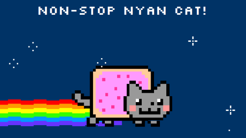 NWK TUMBLR TOTES NYANED FOR 157.9 SECONDS!