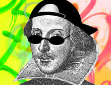 fuckyeahthespianpeacock:   Shakespeare Shakeup by James Johnston  They say a Rose is sweet by any other name But all of my imitators have no game I'm just Richard II Electric Boogaloo So don't get surprised when I banish you Everyone knows me just like I'm Yorick And my lyrics like King Lear are sick When I rap I do really bad live Like Titus Andronicus is hard to high five While Romeo may have loved Juliet I was the first to get in that and it was true that she was only fourteen Like Ophelia's Hamlet I'm a reckless Libertine Hamlet may have been a jerk to Ophelia but it was my jerk that she feelya Richard 3 this is the winter of your discontent Because I'm with Anne Neville in our tent What caused all of Helena's Midsummer Night's dreaming? Probably all of our Midsummer Night's Cre-… hanging out and why was the merchant of venice called Shylock?It's because he had a shy co-… personality and Caeser the soothsayer's claims were valid now you'll only be remebered as a salid and it may be et tu soon brutus but everyone knows that you're a doofus Please feel free to applaud me and rave   now Shakespeare's rolling in his grave