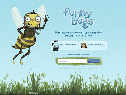 Funny Bugs website