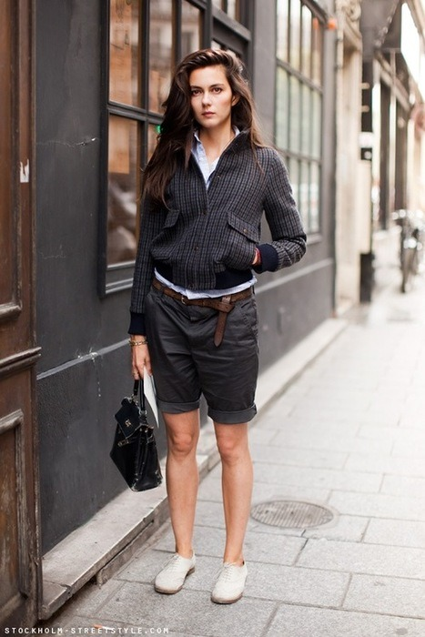 A little menswear inspiration for the ladies