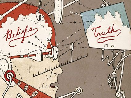 "The Science of Why People Don't Believe Science:How our brains fool us on climate, creationism, and the vaccine-autism link. ""A man with a conviction is a hard man to change. Tell him you disagree and he turns away. Show him facts or figures and he questions your sources. Appeal to logic and he fails to see your point…"" Read the rest from National Magazine Award nominee and science journalist Chris Mooney here."