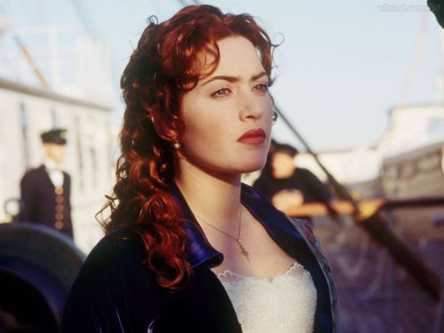 Have so much hair envy when I see Kate Winslet in Titanic.