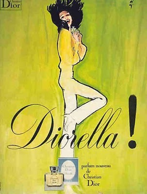 "oldbutnotugly:  it's 1972 and you need your Dior ""Diorella"" perfume. The faint sweet funk is everything."