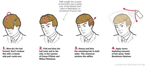 How to get Donald Trump's trademark hair!