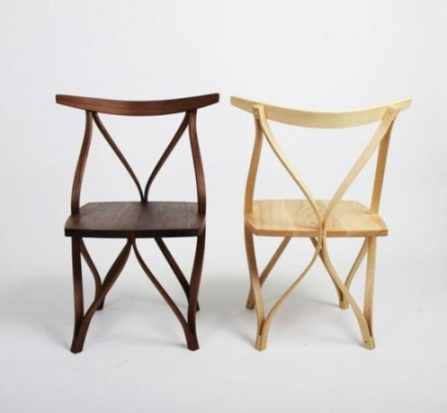 beautiful bentwood chairs by dohoon kim