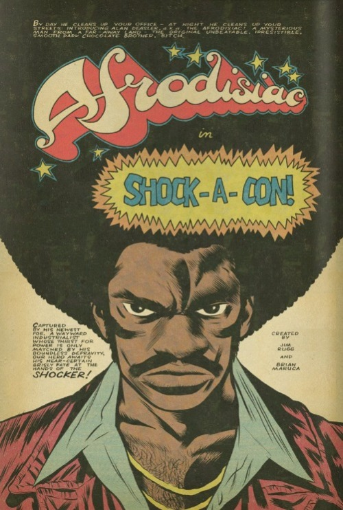 jimrugg:  Go read Afrodisiac, tell your friends.