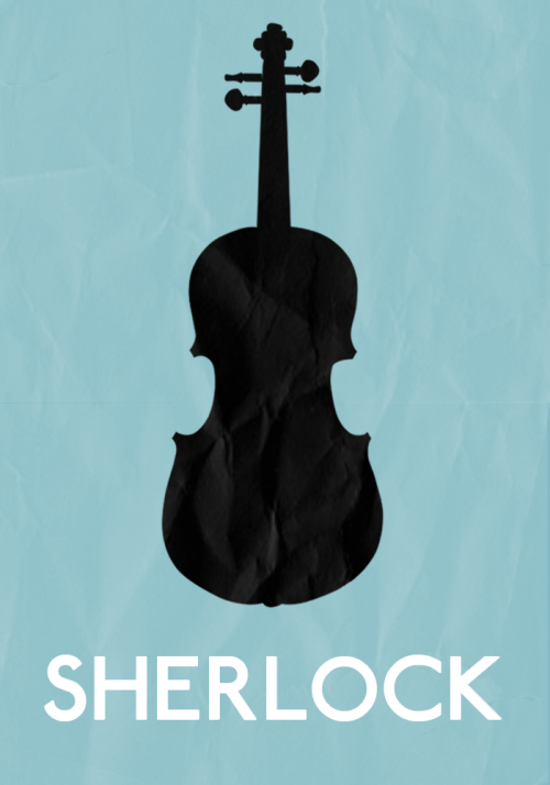 minimalmovieposters:  Sherlock by Alex Days