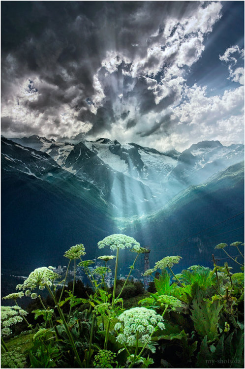 landscapelifescape:  Dombay, Karachay-Cherkess Republic, Russia Dombay… by my-shots