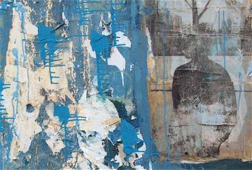 Kevin Regan Mullin  When We Were Chicago No.6 mixed media on canvas
