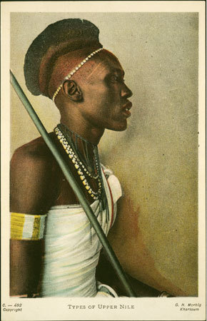 "ohyeahsudan:   ""Portrait of a Shilluk man 1910 """