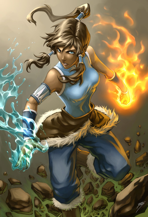dr-killjoy:  Avatar Korra by Drake Tsui