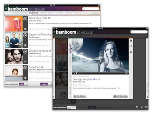 Bamboom sends you free, live TV via the Internet, but is it legal?  Bamboom think they have found a legal crack that they can sliver  through, by having a separate antenna for each subscriber at their  central head end. Your own personal rig there will pick up free over the  air TV, and a DVR in the same location can record shows. Then, when you  want to watch something, you simply send commands from whatever device  you want to use, and your programming is streamed online directly to  you.  I can't wait to see how this turns out. To be honest, I am all for anything that will get me out of the haunches of AT&T or Comcast. (via dvice)