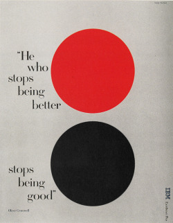 IBM - Advertising nevver:  He Who Stops