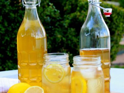 Healthy take on Sweet Tea, summertime classic