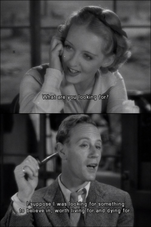the-asphalt-jungle:  The Petrified Forest (1936) Bette Davis & Leslie Howard