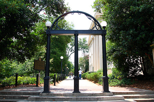 fyeahthesouth:  The Arch at University of Georgia