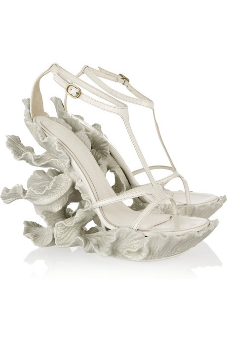evachen212:  these Alexander McQueen shoes are a true work of art