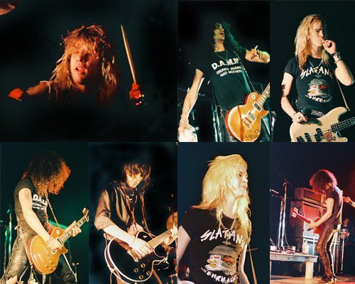 "mrinvisibleman:  ""Guns N' Roses on tour"" part 2"