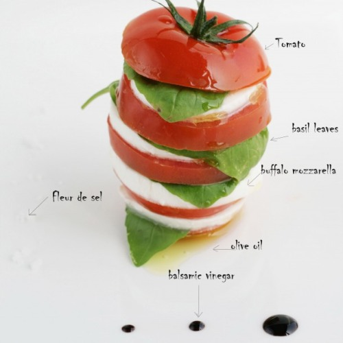 boyfriendreplacement:  Caprese salad - easy breezy delicious spring salad Recipe