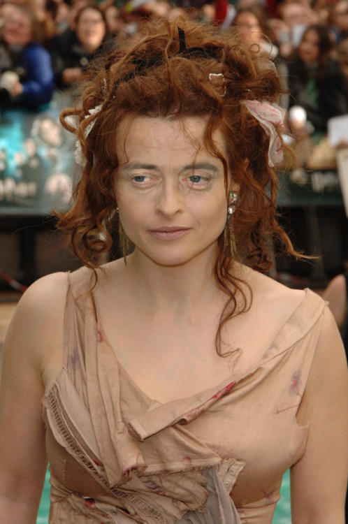 Helena Bonham Carter with Steve Buscemeyes. Thanks to so many for the suggestion.