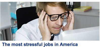 Apparently Hipsters have the most stressful job in America…..