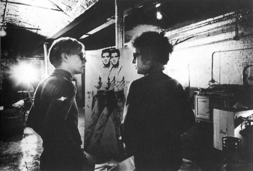 Andy Warhol and Bob Dylan, with a little bit of Elvis.