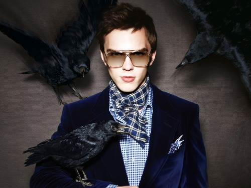 thecrimsonlily:  Nicholas Hoult for Tom Ford