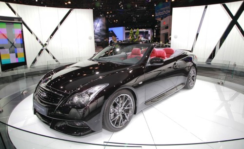 Infiniti Performance Line G37 Convertible Concept We expect that the IPL G Convertible Concept will simply be an open-top version of the IPL Coupe, which has performance numbers nearly identical to those posted by the Nismo 370Z.