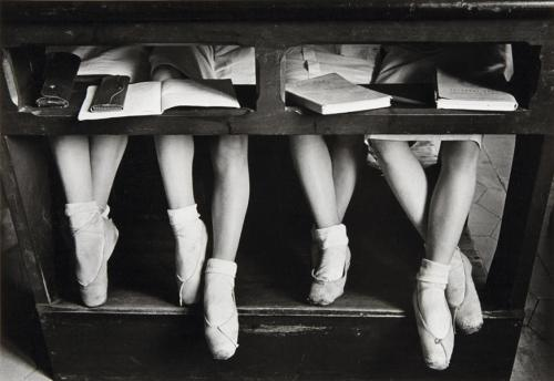 Lesson at La Scala's Ballet School, Milan, Italy, 1934 by Alfred Eisenstaedt
