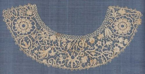 Lace Collar16th-17th Century ItalyLinen, lace, point, punto in aria