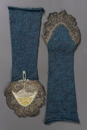 Woman's Gloves18th Century ItalySilk Knit, Lace