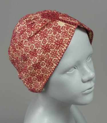 Child's Hat18th Century ItalyEmbroidery, punto scritto