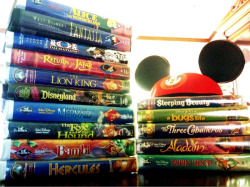 raisingroses:  Disney original :) I miss VHS… Rest of my Disney movies are dvd… Something about vhs made it seem so more exciting. Original :)