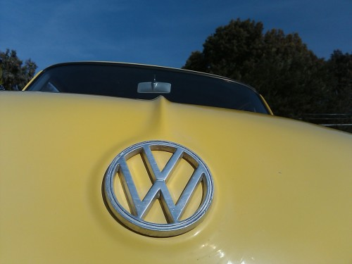 Artsy shot of Amber's Notchback from last weekend.