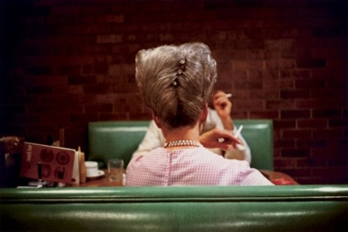 William Eggelston has some of his dye transfer prints at the Frist in Nashville. I was in awe.