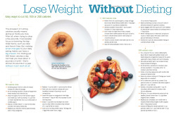 everydayfitness:  Lose Weight, Without Dieting: From Eating Light Vol 19, No 3