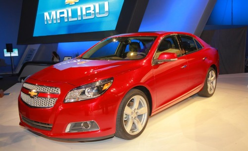 The new 2013 Chevrolet Malibu shown at New York isn't a huge departure in styling, but gains some masculinity.
