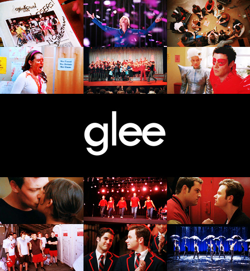 "TV Shows Challenge | 10 TV shows you love the most: Glee  ""By its very definition, Glee is about opening yourself up to joy."""