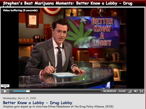 VIDEOS of Stephen Colbert's Best MARIJUANA Moments