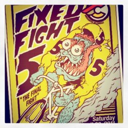 Fixed Fight 5 this Saturday (Taken with instagram)