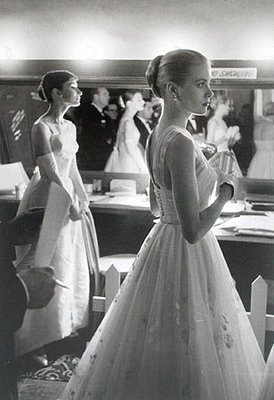 Grace Kelly and Audrey Hepburn, two beautiful princesses!