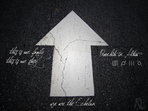 brokenbreaker:  Dedicated to the Echelon. In defense of our dreams.