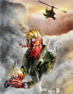 comicsforever:  Grifter // pencils by Ken Rocafort, inks by James Stone, colors by Peejay Catacutan (2011)